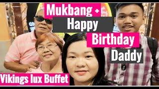 Vikings Lux Buffet Mukbang with my Family