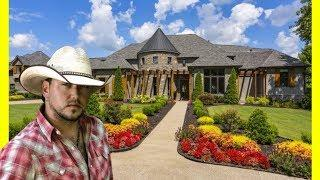 Jason Aldean House Tour $7875000 Mansion Luxury Lifestyle 2018