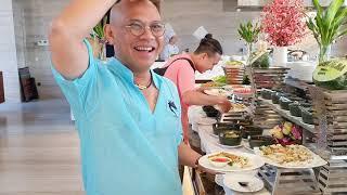 Luxury buffet sáng Rosa Alba Phú Yên đơn giản mà chất lượng