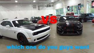 Dodge Demon vs Ford GT350 at Carolina Exotics Car Club