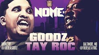 TAY ROC VS GOODZ SMACK/ URL RAP BATTLE   URLTV