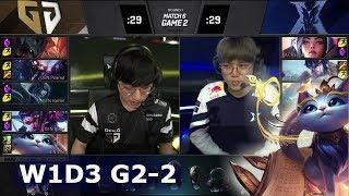 KZ vs GEN - Game 2 | Week 1 Day 3 S9 LCK 2019 Summer | Kingzone DragonX vs Gen.G G2 W1D3