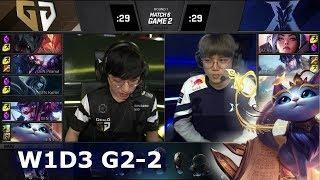KZ vs GEN - Game 2 | Week 1 Day 3 S9 LCK 2019 Summer | Kingzone DragonX vs Gen.G G2 W1D3