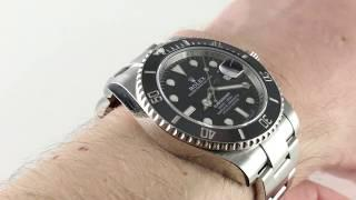 Rolex Submariner 116610 Luxury Watch Review