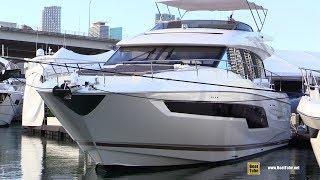2019 Prestige 630S Luxury Yacht - Interior Deck Bridge Walkthrough - 2019 Miami Yacht Show