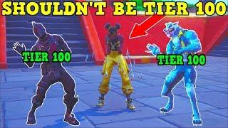 WHY LUXE SHOULDN'T BE TIER 100! (Fortnite Season 8!)