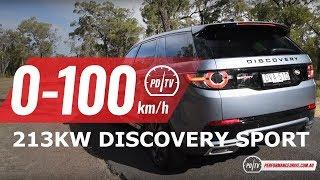 2018 Land Rover Discovery Sport Si4 (213kW) 0-100km/h & engine sound