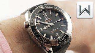 Omega Seamaster Planet Ocean 600M (215.33.44.21.01.001) Luxury Watch Review