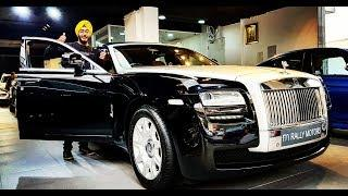 All about the Rolls Royce Ghost || Review || exhaust sound || specs || luxury cars || India - Delhi