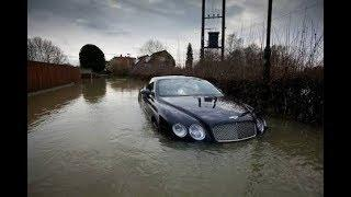 Warning for Luxury Cars while flood
