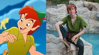 Peter Pan Characters in Real Life