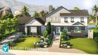 LUXURY FAMILY HOME The Sims 4 | Speed Build ????