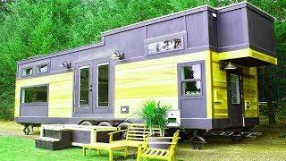 Absolutely Beautiful Double Loft Luxury Big Outdoors Tiny House by Tiny Heirloom