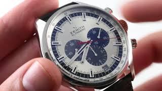 Zenith El Primero Chronomaster 03.2520.400/69.C713 Luxury Watch Review