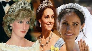 Reveal terrible value of the crown of luxury in the Royal family:Diana , Kate and Meghan Markle