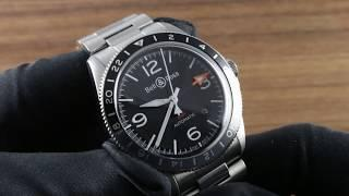 Bell & Ross BR V2-93 GMT (BRV293-BL-ST/SST) Luxury Watch Review
