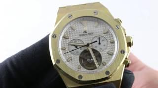 Audemars Piguet Royal Oak Tourbillon Chronograph 25977BA.OO.1205BA.02 Luxury Watch Review