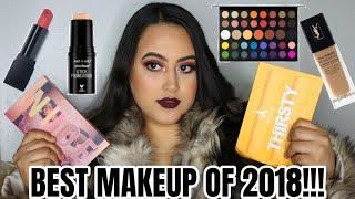 BEST LUXURY & DRUGSTORE MAKEUP OF 2018! | JEFFREE STAR COSMETICS THIRSTY? | JAMES CHARLES PALETTE?