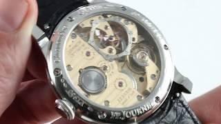 F.P. Journe Chronometre Optimum Platinum 42mm (!) Luxury Watch Review