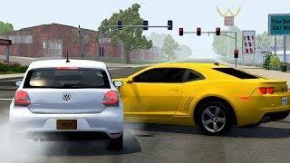 Crossroad Car Crashes #29 - BeamNG.Drive