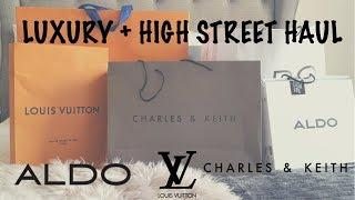 SHOE AND BAG HAUL | LUXURY AND HIGH STREET