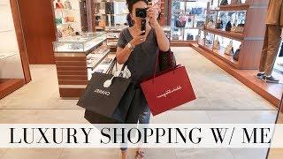 LUXURY SHOPPING HAUL: CHANEL, GUCCI, FENDI ... and more! | LuxMommy