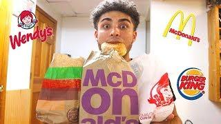 BEST FAST FOOD ORDER EVER! ???? | MUKBANG ft. Nej Dlux