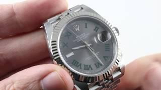 Rolex Datejust 41 (WIMBLEDON DIAL) (116234) Luxury Watch Review