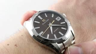 Grand Seiko 20th Anniversary Caliber 9S Limited Edition SBGH311 Luxury Watch Review