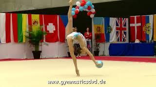 Anastasia Guzenkova (RUS) - FIG Senior 02 - Lux-Trophy 2018