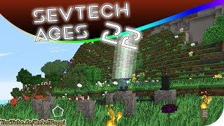 CORALIUM ORE & PEDESTAL - SevTech AGES #22 [Stage ONE] #Minecraft