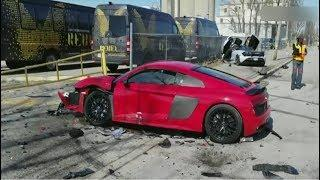 Epic Driving Fails Compilation - Luxury car crash compilation 2019