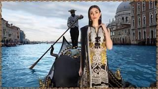 Sana Safinaz Luxury Lawn 3 Piece Unstitched Collection 2019
