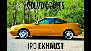 Volvo C70 T5 IPD exhaust swap (REVS, driveby)