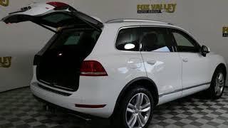 Used 2014 Volkswagen Touareg Schaumburg IL Palatine, IL #S6289XA