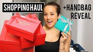 LUXURY SHOPPING HAUL + HANDBAG REVEAL! | CHRISTIAN LOUBOUTIN, VALENTINO, TIFFANY & CO. + BURBERRY