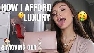 HOW I AFFORD TO MOVE OUT AT 15 & STILL BUY LUXURY! | India Grace