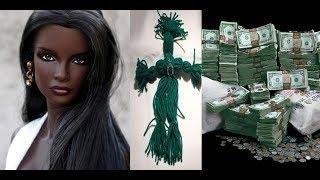 Money Barbie Doll & Lakshmi Hindu Goddess of Wealth, Luxury, Prosperity