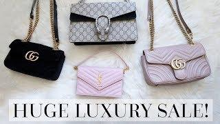 HUGE LUXURY SALE ALERT FT. GUCCI MARMONT + SAINT LAURENT!