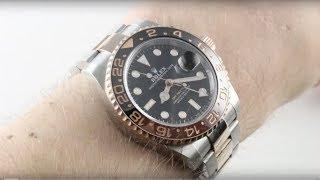 "2018 Rolex GMT-Master II ""Root Beer"" 126711CHNR Luxury Watch Review"