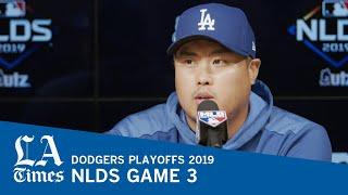 Dodgers' Hyun-jin Ryu on playoffs how life has changed in Los Angeles