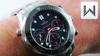 Omega Seamaster Diver 300M Chronograph 41.5mm (212.30.42.50.01.001) Luxury Watch Review