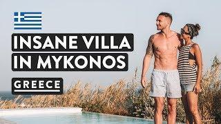 LUXURY GREEK VILLAS IN MYKONOS | With Private Pools! | Greece Travel Vlog 2018