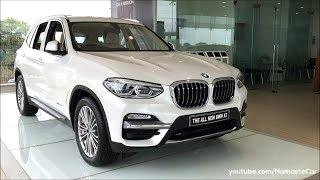 BMW X3 xDrive 20d Luxury Line G01 2018   Real-life review