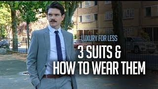 Luxury For Less | 3 Suits For Every Occasion