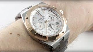 Vacheron Constantin Overseas Chronograph (ROSE & STEEL) 5500V/000M-B074 Luxury Watch Review