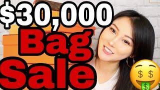 Largest Luxury Bag Sale Ever: Selling $30,000 Designer Bags In Los Angeles (Marie Kondo my Bags)