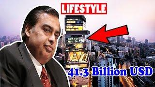 Mukesh Ambani Net Worth, Rich Lifestyle, Biography, House, Car, Private Jets and Luxurious Lifestyle