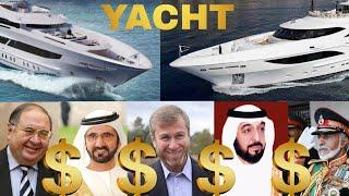Top 5  Most Luxurious Yacht Owners In The  World 2018 ✮