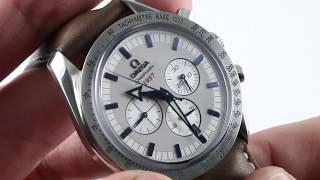 Omega Speedmaster Broad Arrow Chronograph 321.13.44.50.02.001 Luxury Watch Review